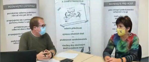 Videochat sředitelkou školy (8.12.2020)