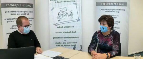 Videochat sředitelkou školy (12.1.2021)